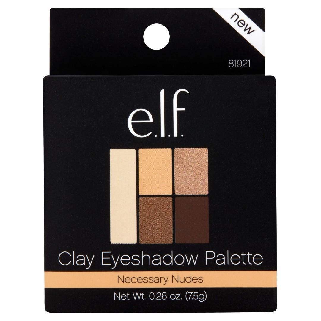 E.L.F. Cosmetics 溫柔大地色系五色眼影盤 Clay Eyeshadow, Necessary Nudes