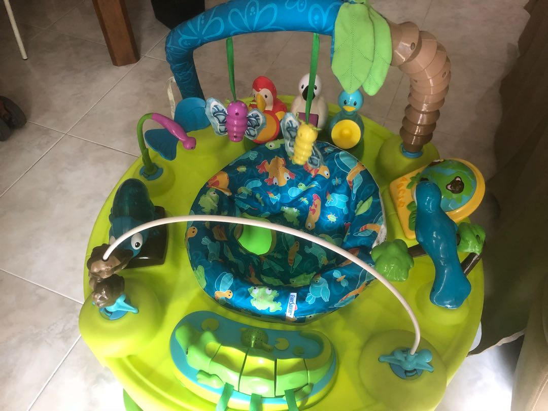 5eb6ab72ae23 Evenflo Exersaucer Triple Fun Active Learning Center