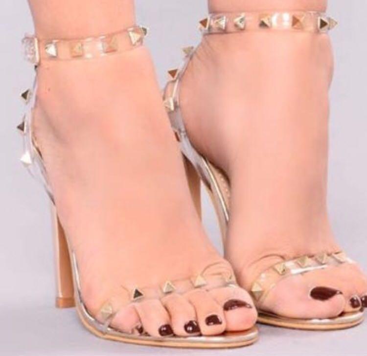 """Fashion Nova """"She's a Stud"""" Heels (6.5)"""