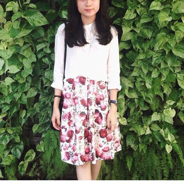 Floral skirt (neoprene)