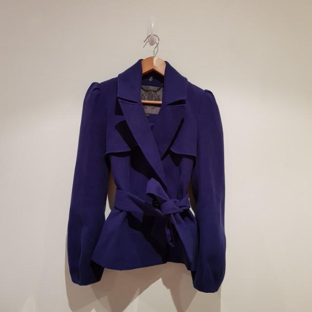 FOREVER NEW Purple Coat
