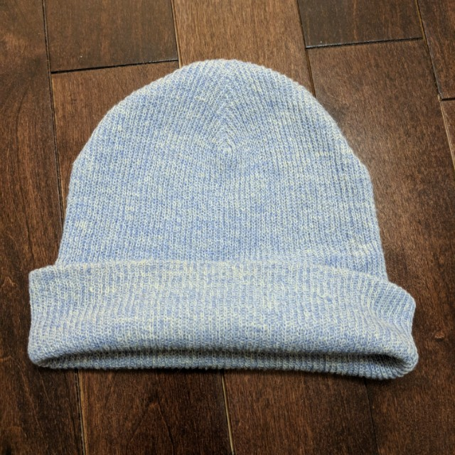 Garage Light Blue Soft Beanie