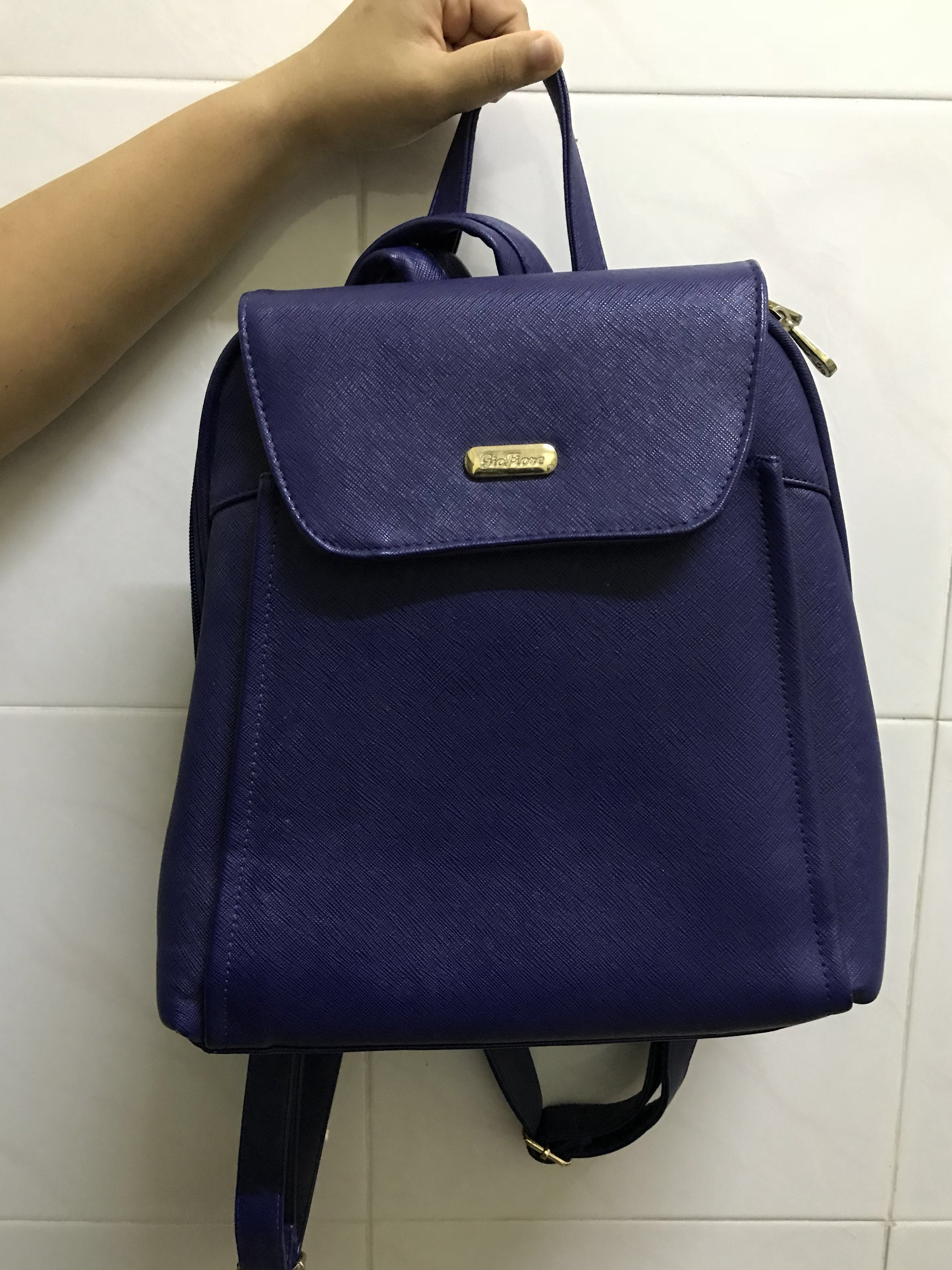 GioFiore Blue backpack