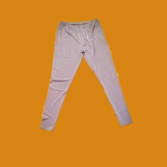grayish nude leggings