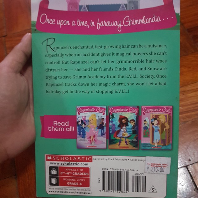 Grimmtastic girls rapunzel cuts loose books books on carousell fandeluxe Choice Image