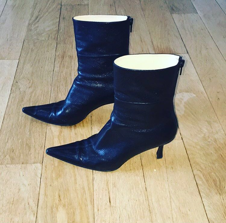 GUCCI heeled ankle boots size 37