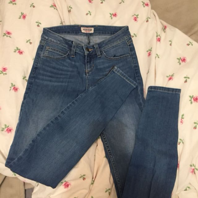 Guess light blue jeans