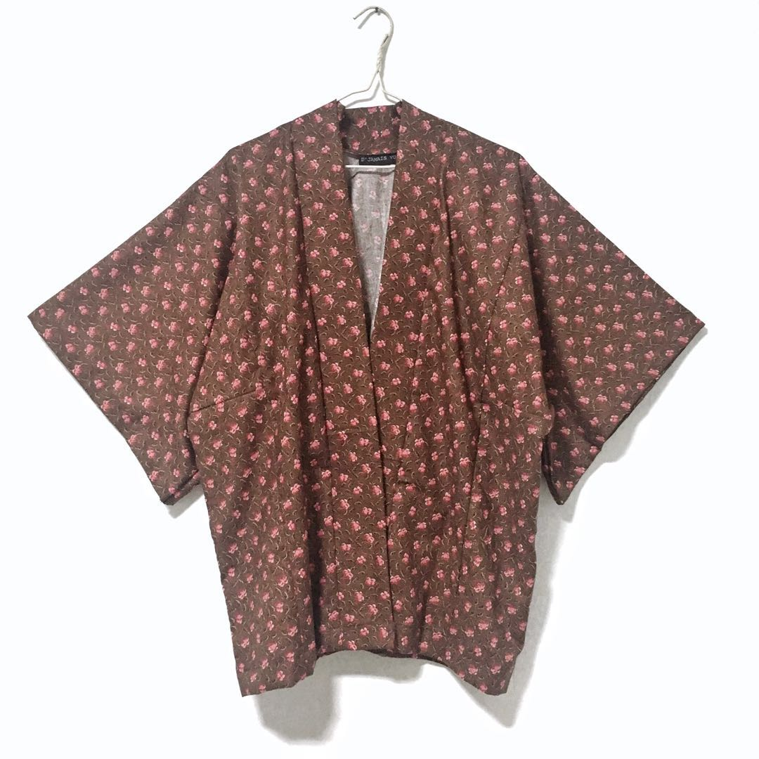 (HANDMADE) Petal Cover Up (Brown)