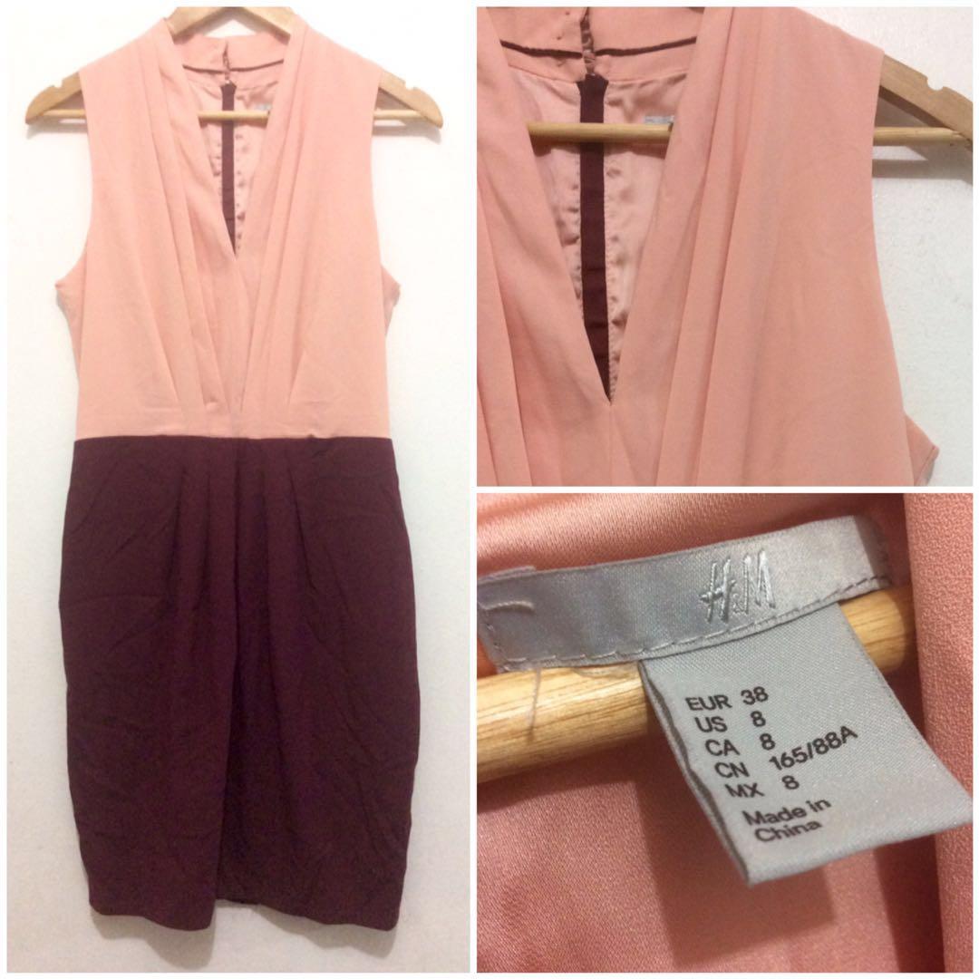 H&M Bicolor Dress