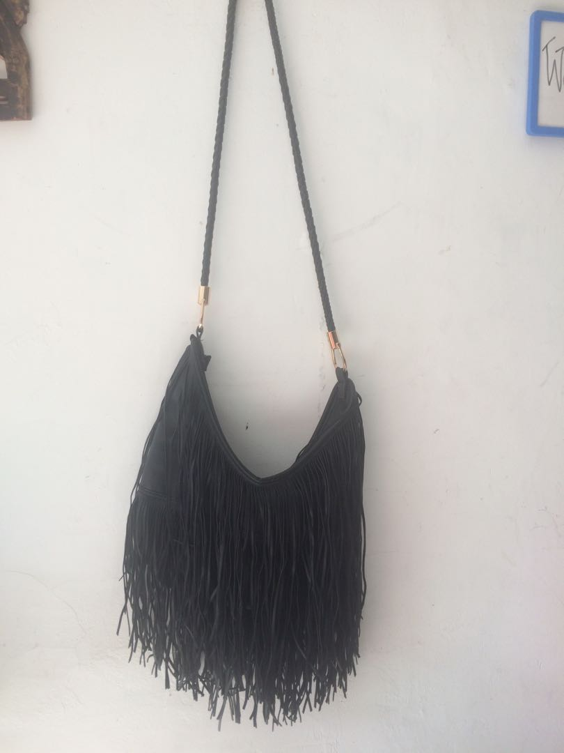 H&M Fringe Bag