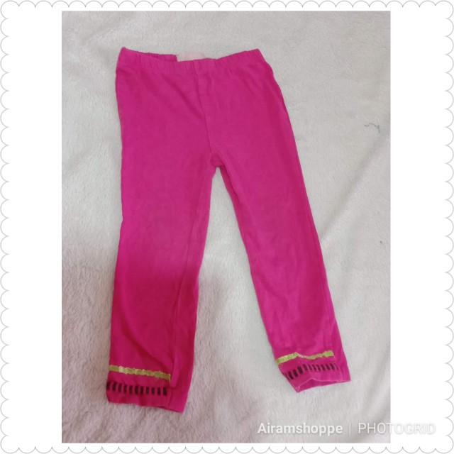 Hot Pink Leggings (24 months)