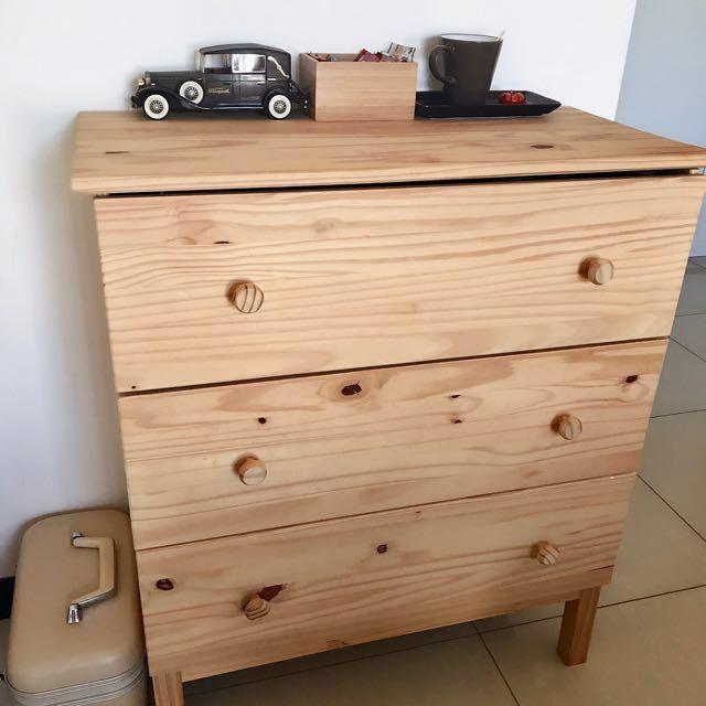 Ikea 北歐風格 輕工業風 法式 實木 抽屜櫃 衣櫃