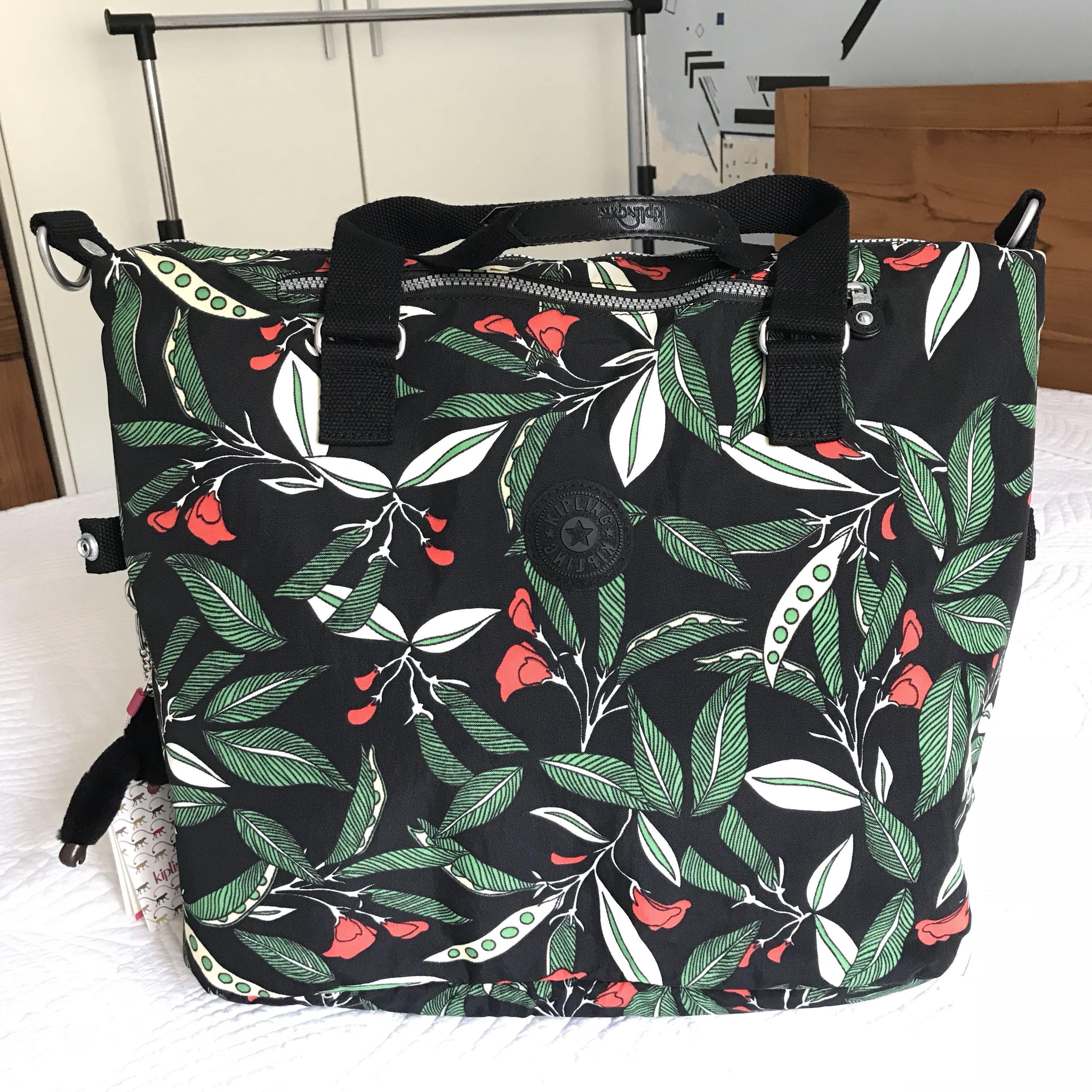 Inspired Kipling Large Overnight Bag
