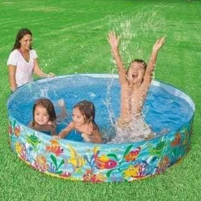 Intex non inflating pool