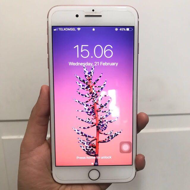 Iphone 7 Plus 128GB Rose Gold