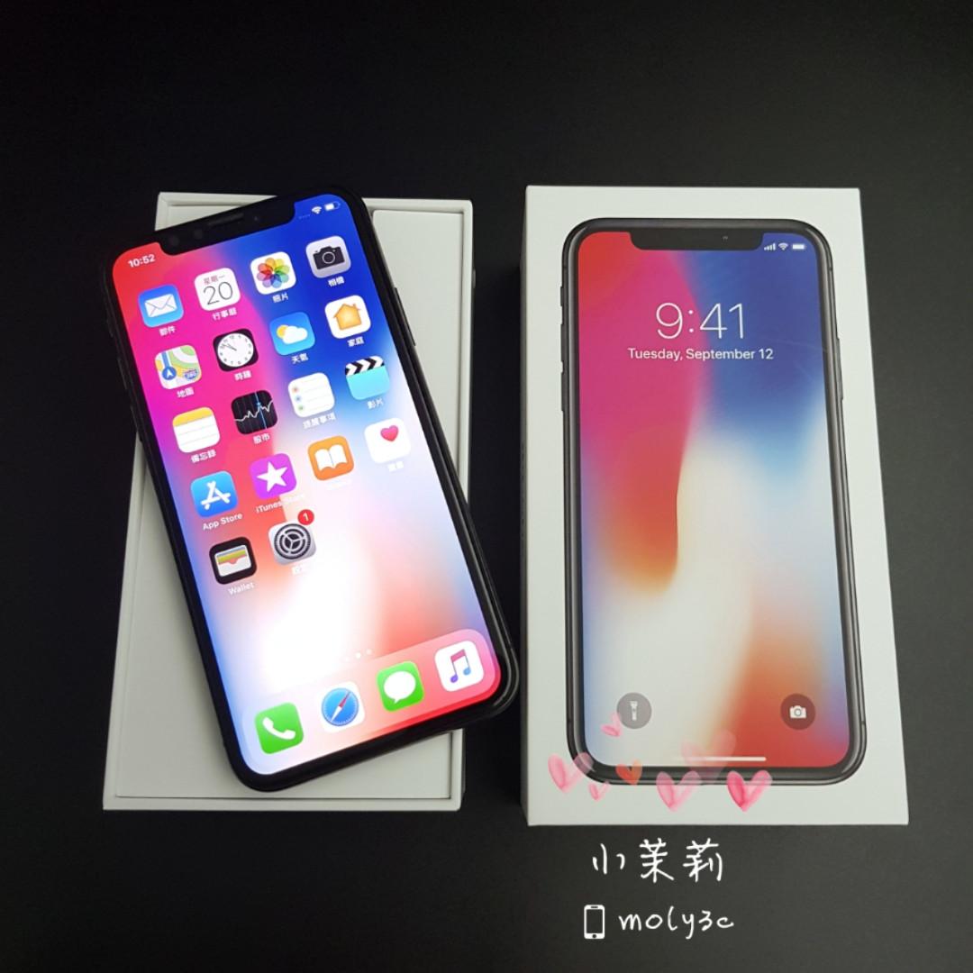 "iPhone X 256G (Space Gray 灰) 5.8"" iPhoneX 256GB A493"