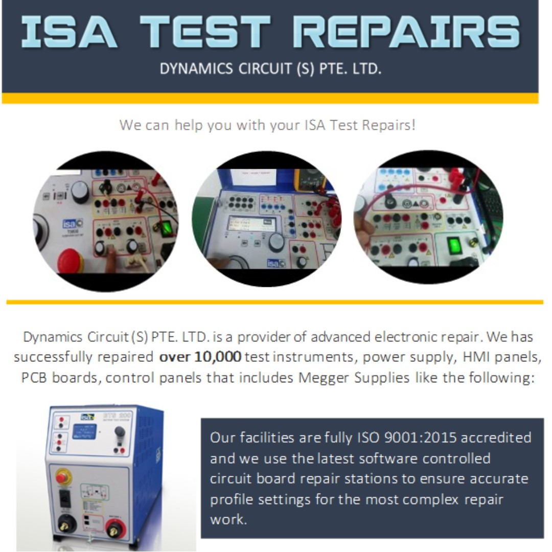 Isa Test Repairs Lifestyle Services Electronics Gadget Electronic Circuit Contol Boards Repair On Carousell