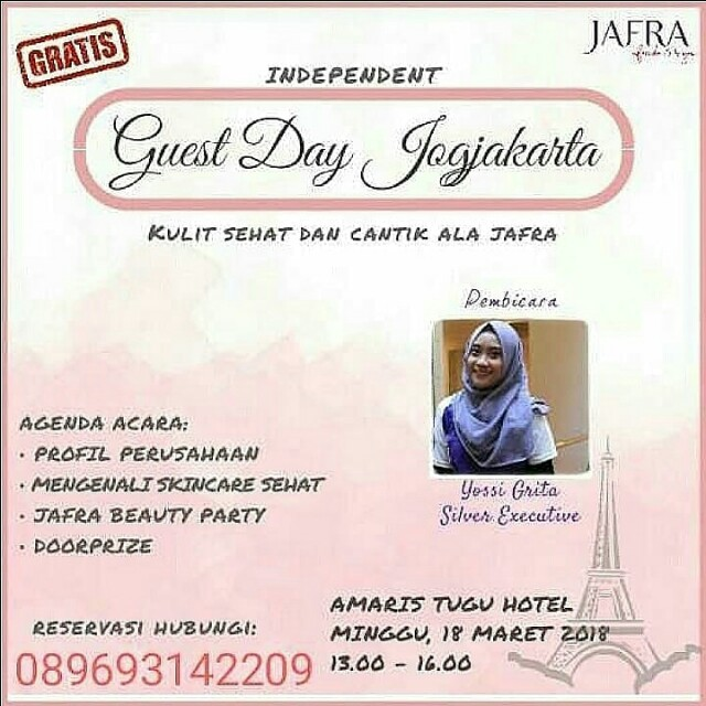 Jafra Guest Day (facial gratis)
