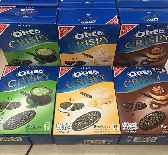 Japan Oreo Crispy