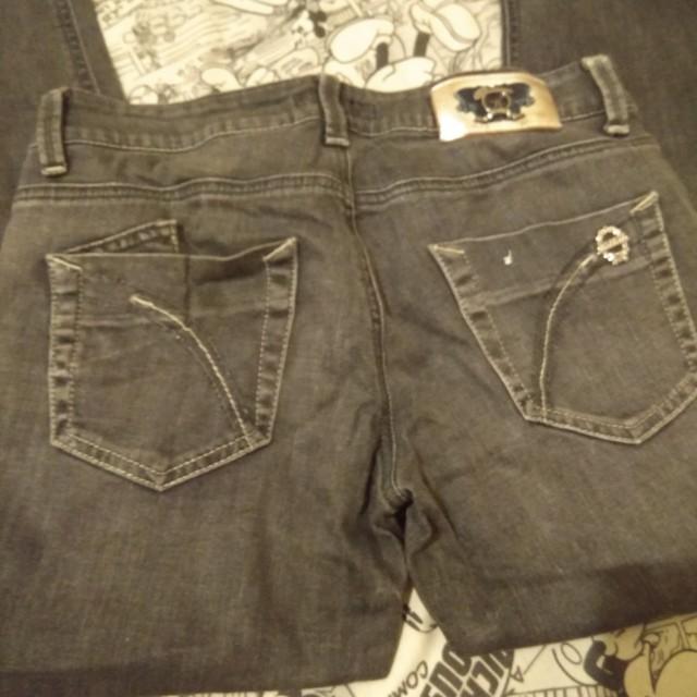 jeans abu abu