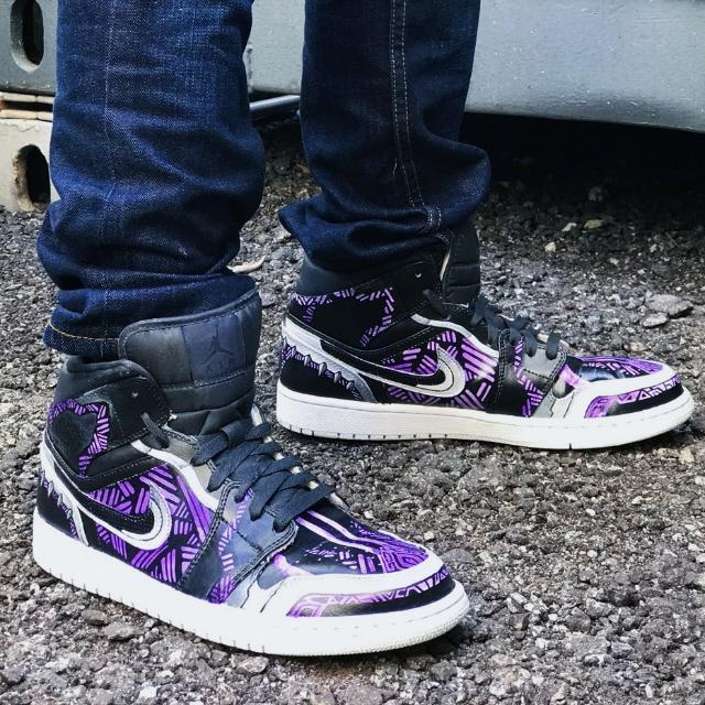 Jordan 1 Black Panther (Shoe Custom