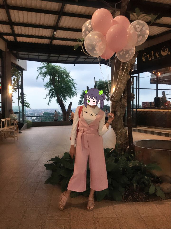 Jumpsuit baby pink