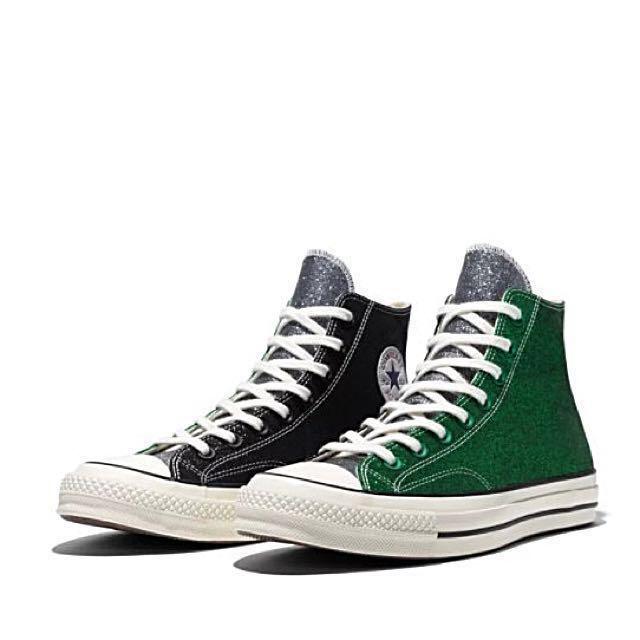 0ad2b22b6d1ee5 JW Anderson X Converse Chuck Taylor 70 Hi Green Black