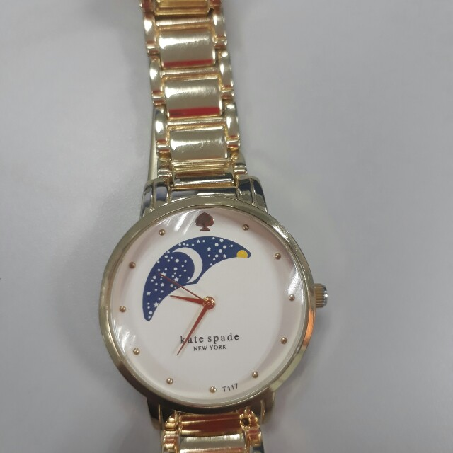 Kate Spade gold tone watch