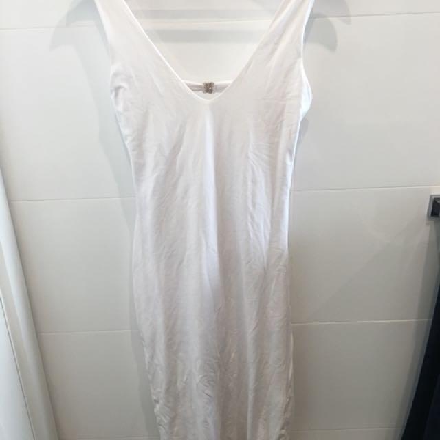 Kookai midi white dress