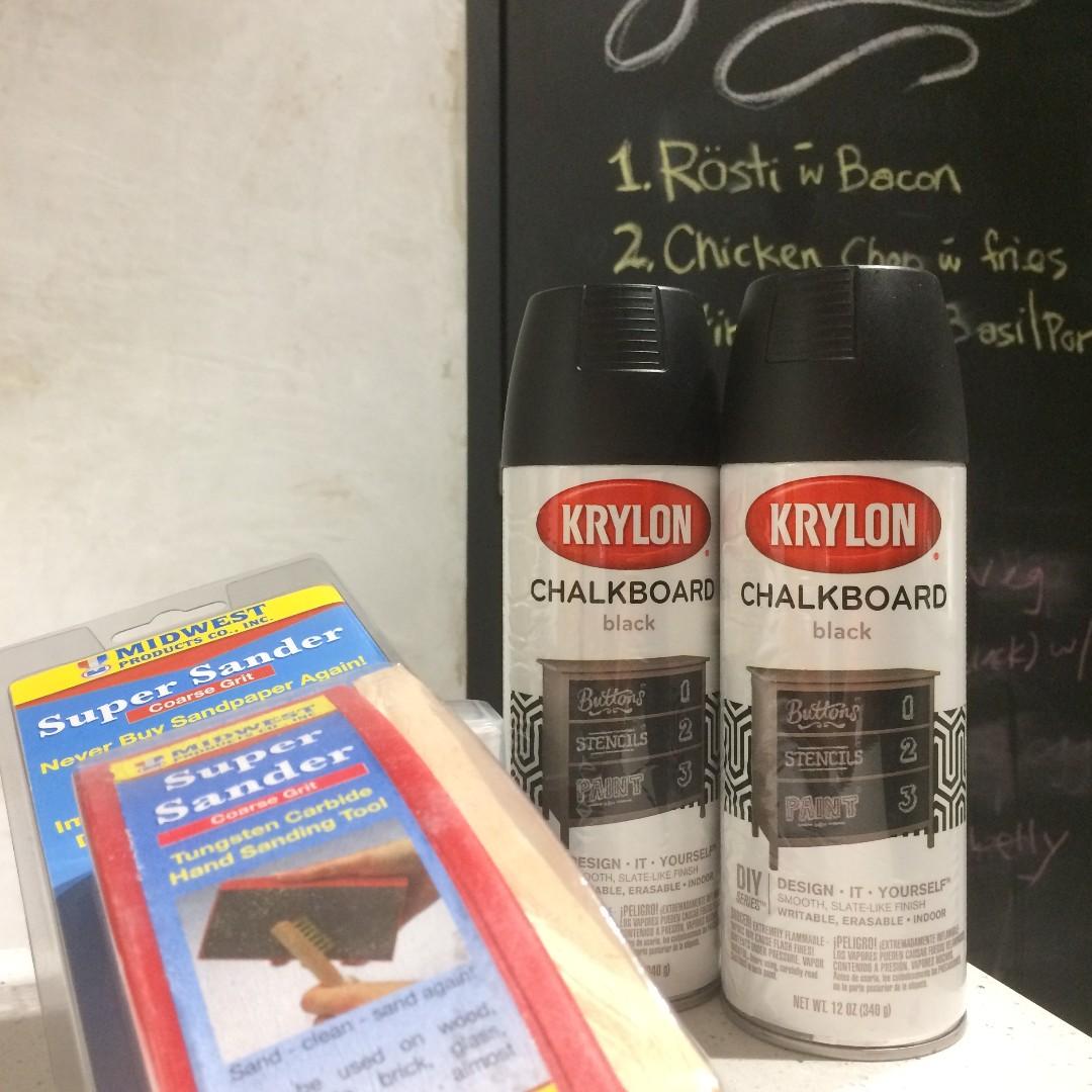 Krylon Chalkboard Black