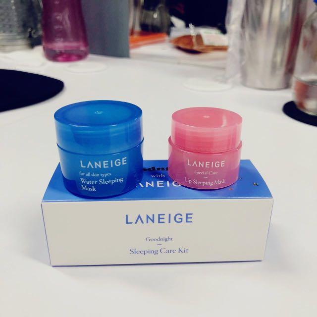 Laneige - Goodnight Sleeping Care Kit (ori)