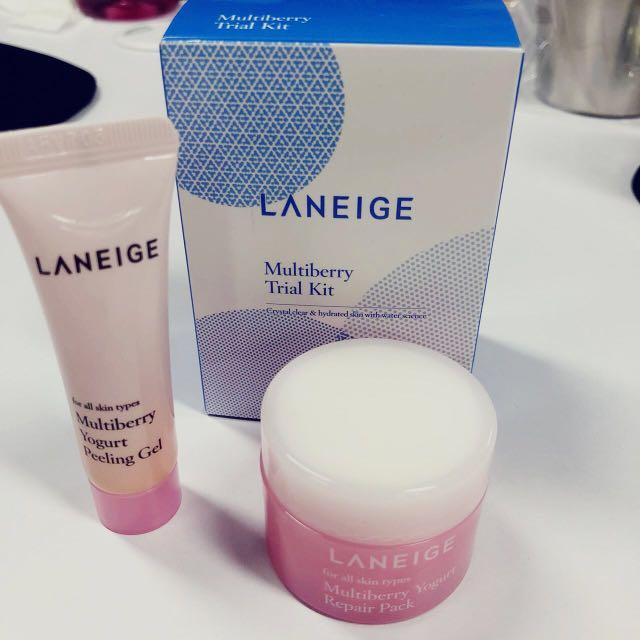Laneige - Multiberry Trial Kit