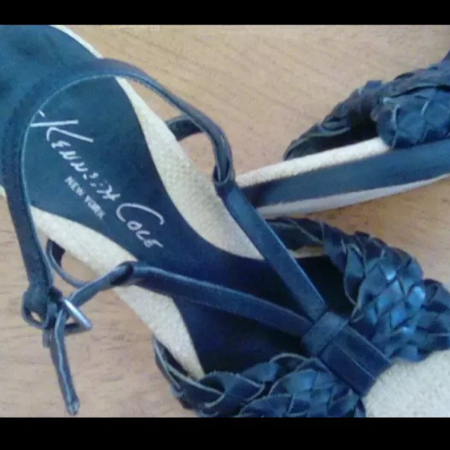 Kenneth Cole leather heels (new)
