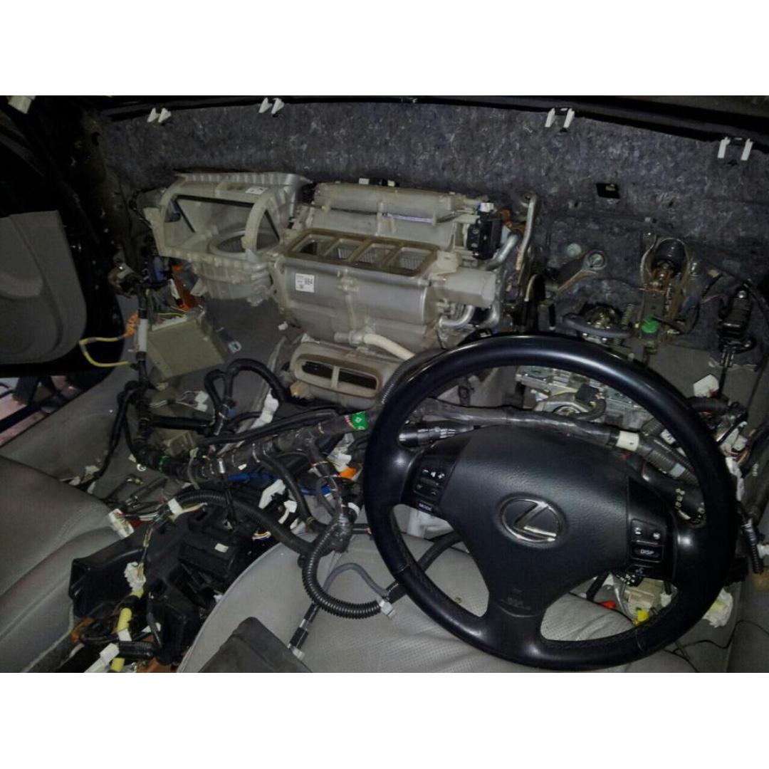 gs300 seat repair