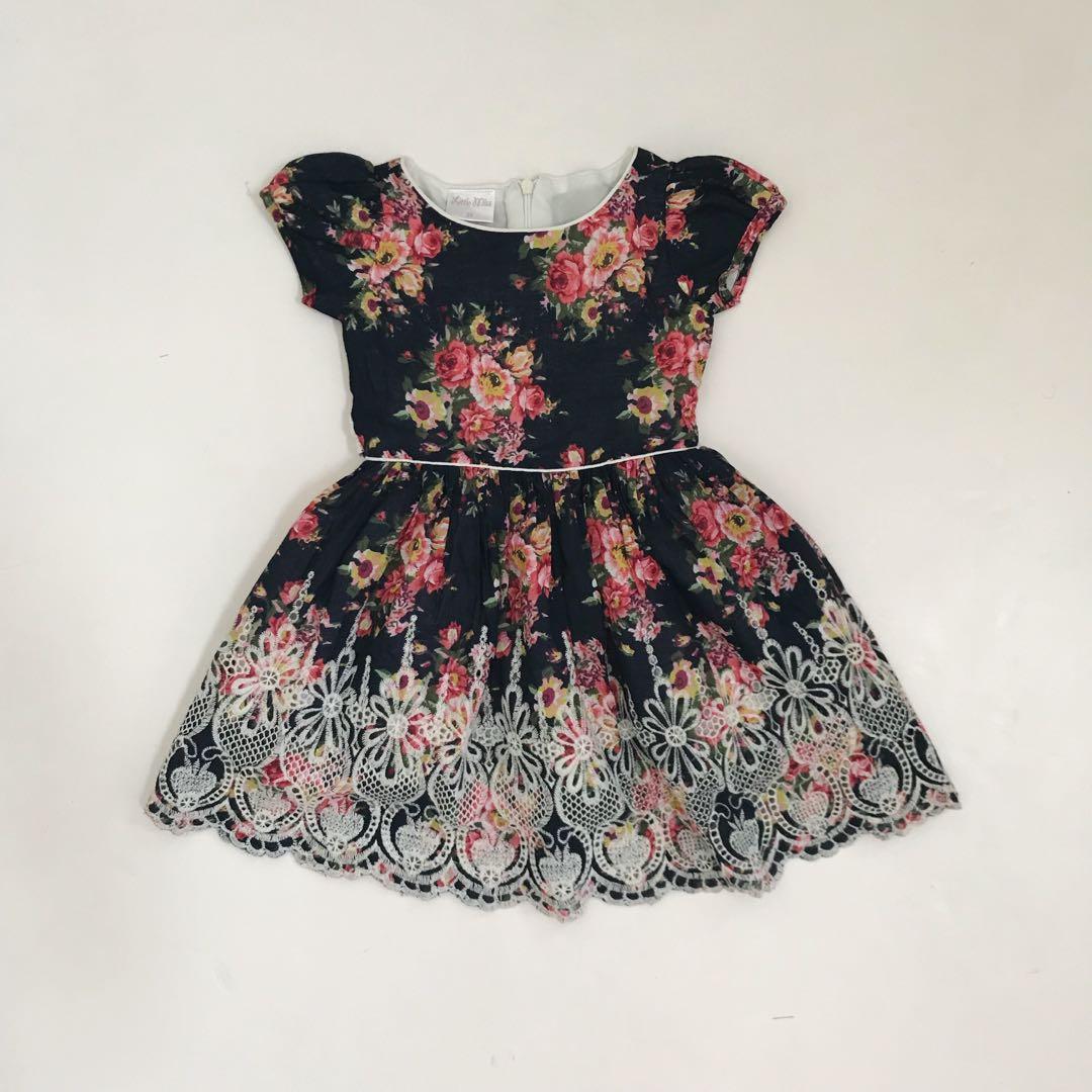 Little Miss dress 2T (P300)