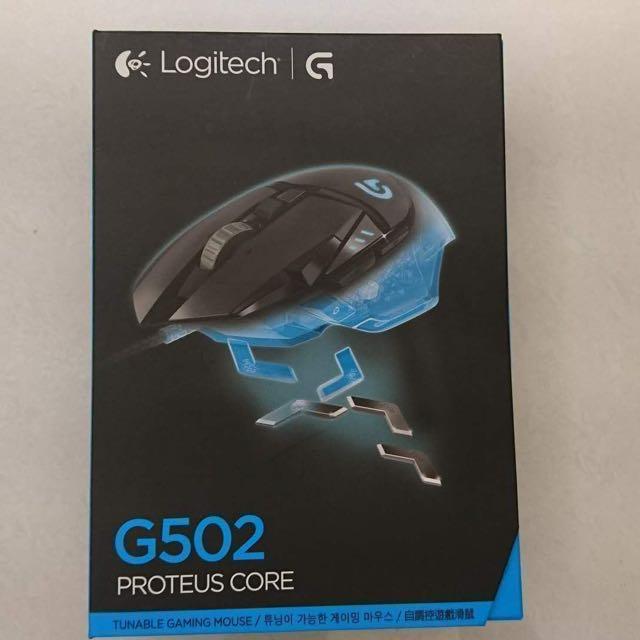 羅技Logitech G502 Proteus Core 自調控電競華鼠