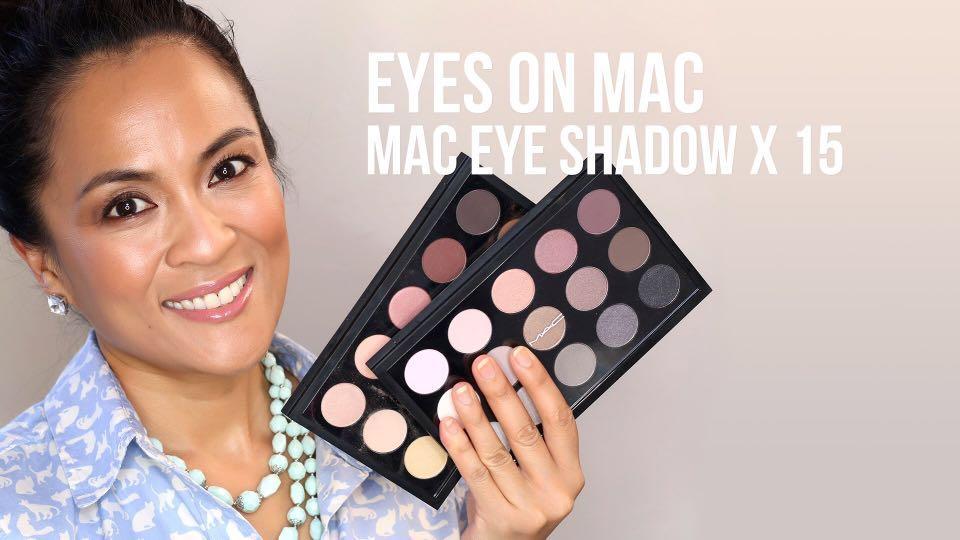 Mac 15x Warm Neutral Eyeshadow