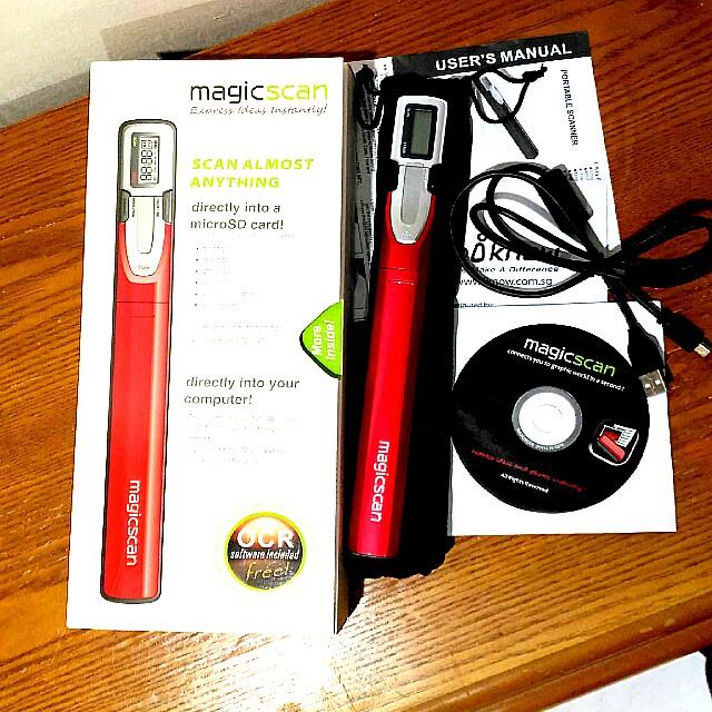 MAGICSCAN Portable Scanner ( Model A4C LITE)