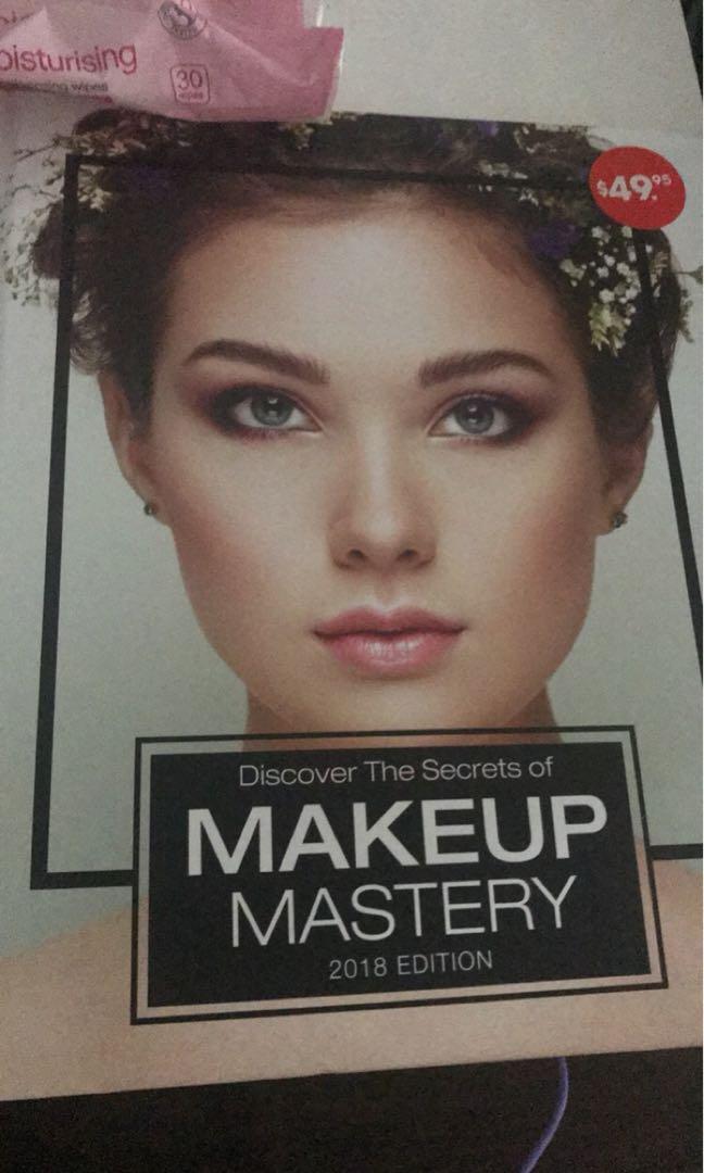 Makeup mastery book