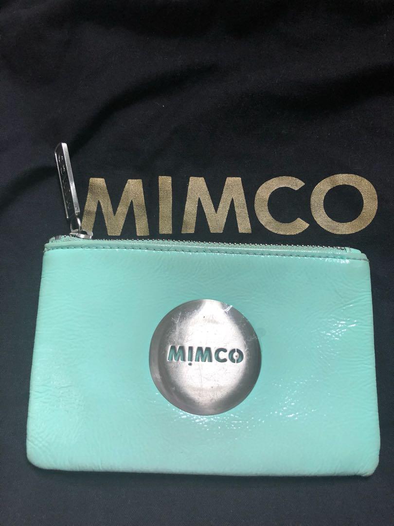 Mimco Small Pouch Seafoam