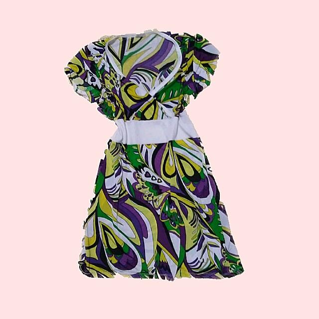 mini dress v-neck