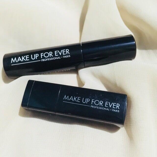 Mini lipstick and mascara