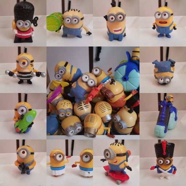 Minions Collection from McDonald's