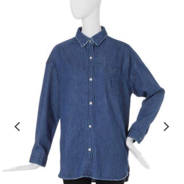 轉賣日本代購murua正品牛仔外套襯衫款式emoda sly moussy stylenanda