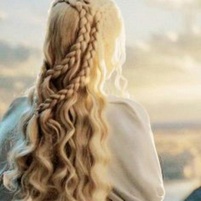 Natural Game Of Thrones lace Front Wig