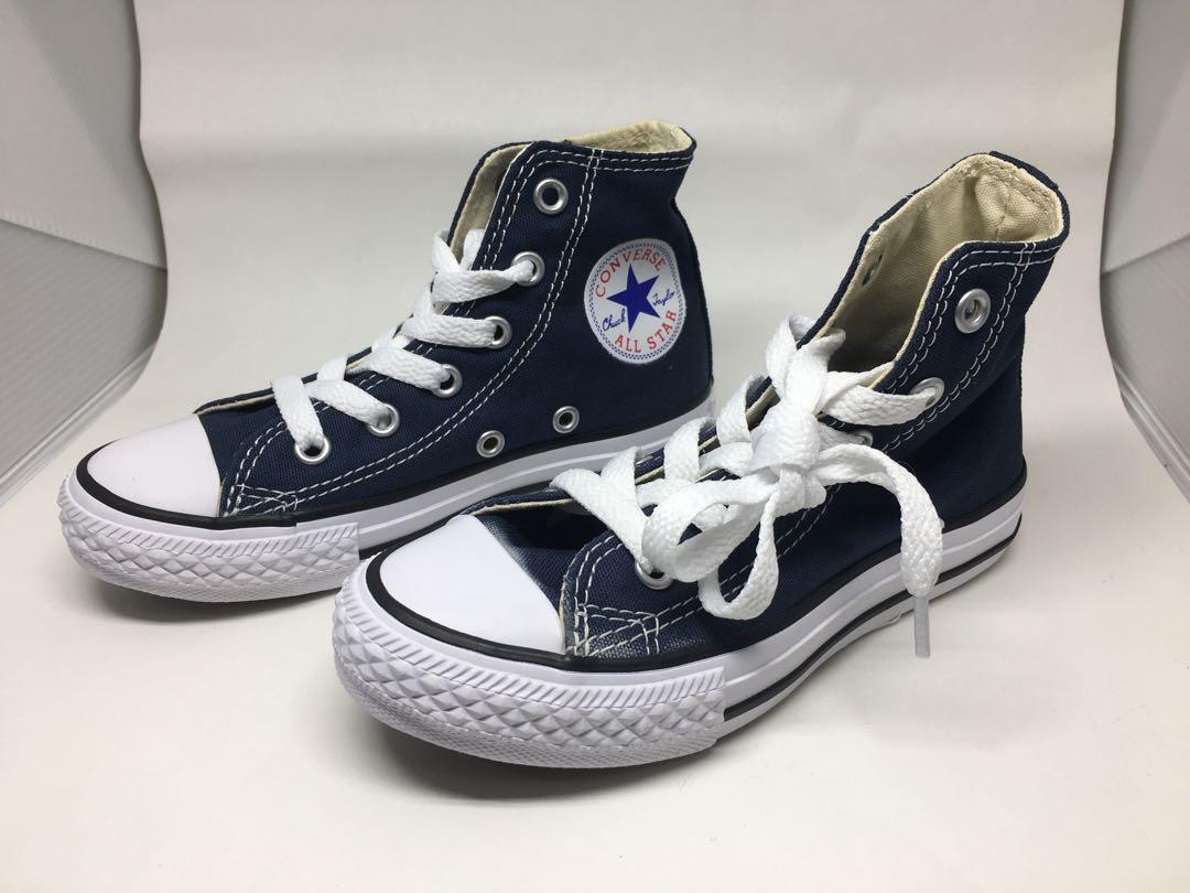 7d667084c3d1aa Navy Blue Converse All Star High Tops 11