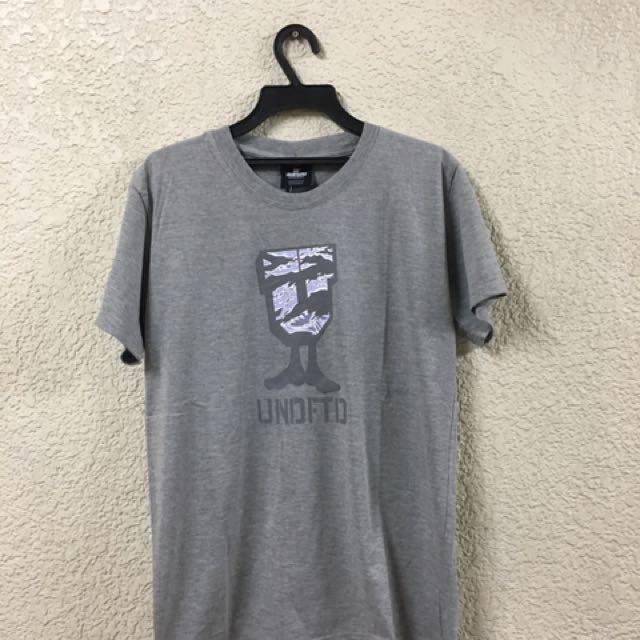(New) undftd 基本短T L號 灰色