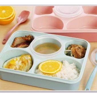 New yooye lunch box / tempat makan / bekal anak 5 sekat