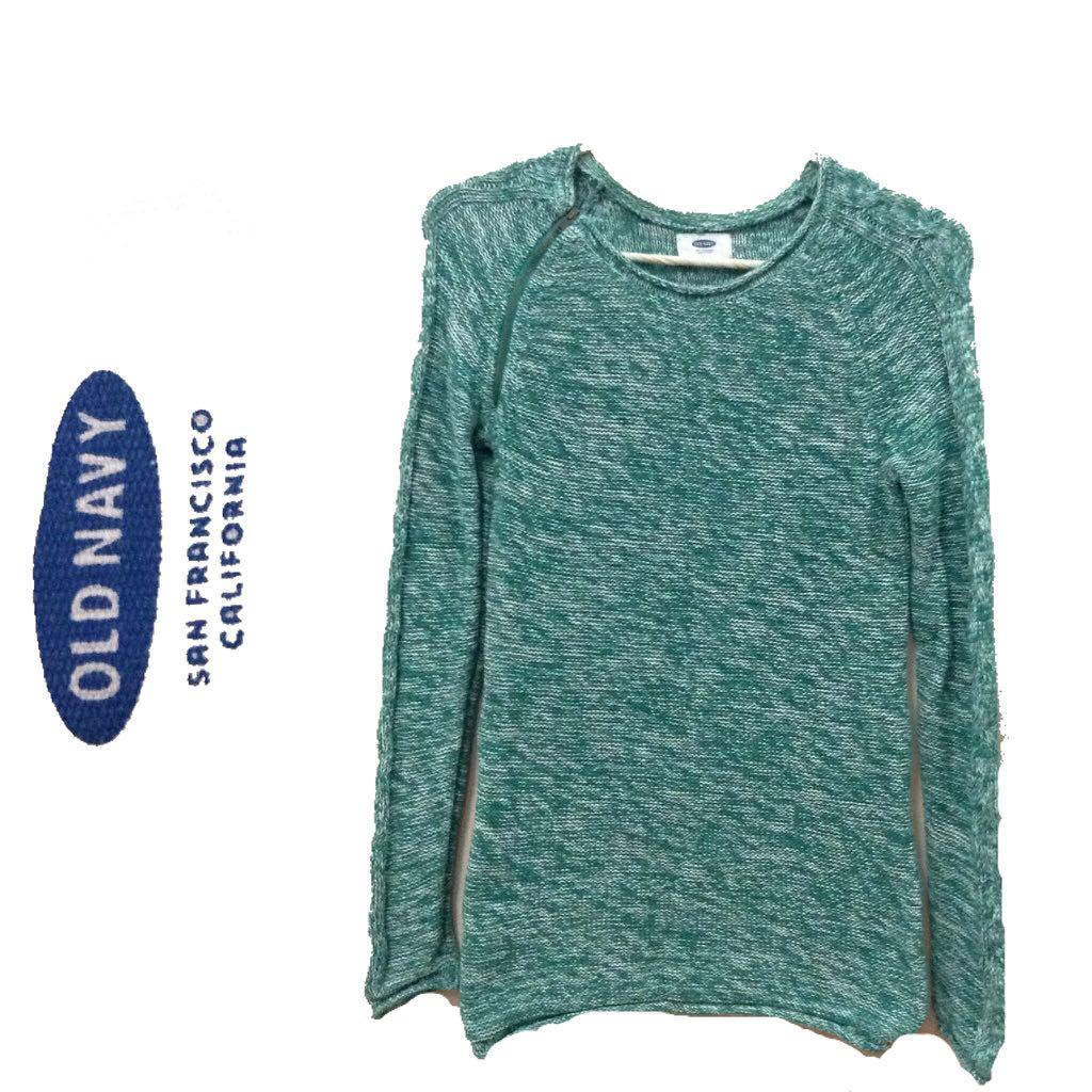 New:freeSF Old Navy green pullover
