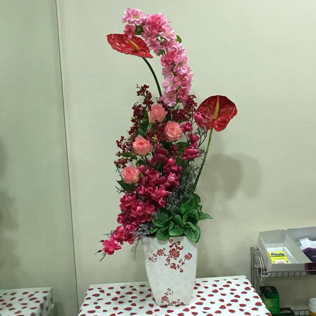 Newly arranged artificial flowers for all occasions
